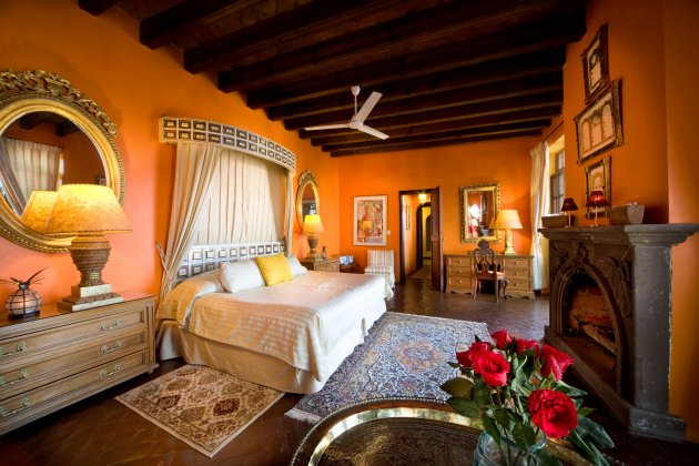 Enjoy the romance of this luxurious suite