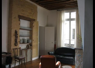 17th century Latin Quarter flat