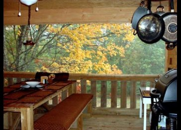 Wildwood Hickory and Maple cabins