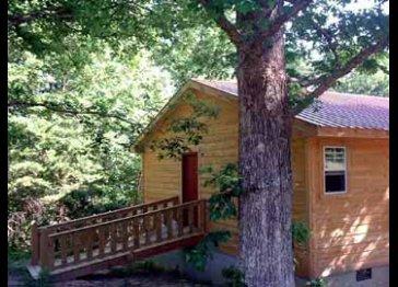 Wildwood Walnut cabin