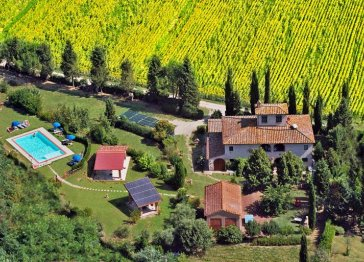VALLACCHI country villa to discovery the tuscany