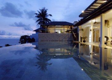 Villa Amanzi, Ocean view villa with a private infinity pool