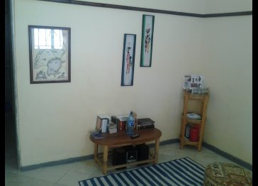 A one bedroom house available to rent in Uganda!