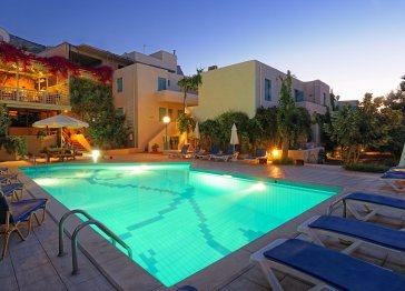 Beautyfull apartments in a traditional village on Crete