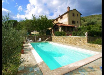 VILLA EUGENIO: Tuscany home walking distance to the village