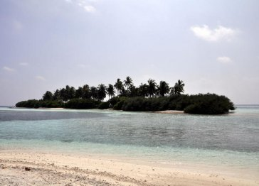 Your guest house on sandy white beach