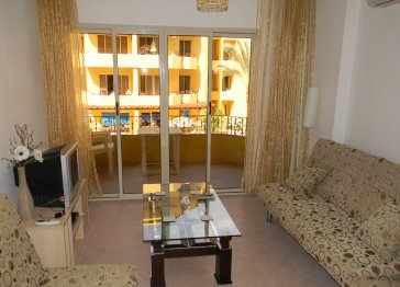 Apartment in Hurghada, Egypt 1 bedroom sleeps up to 4