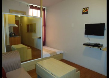 Fully Furnished Studio Unit Corverted to 1BR