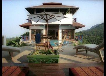 Baan Leelavadee Hilltop luxury seaview villa with pool