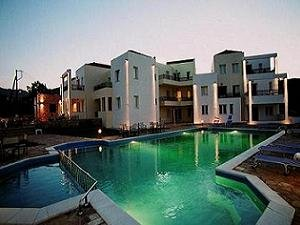 Luxury holiday apartments with pool