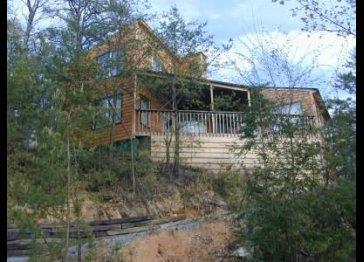Sensational View Log Cabin in Gatlinburg, Tennessee