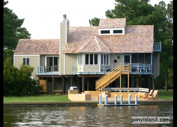 Assateague area Spinnaker Waterfront Vacation House