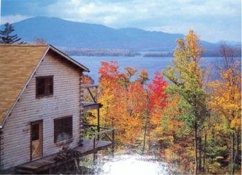 Log Cabin Overlooking Moosehead Lake Maine