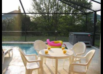 Pool Spa PC DSL BBQ Baby-Equipped Game-Room Near-Disney