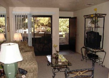 Palm Springs Villas 2 $60 to $90 per night, Condo 1