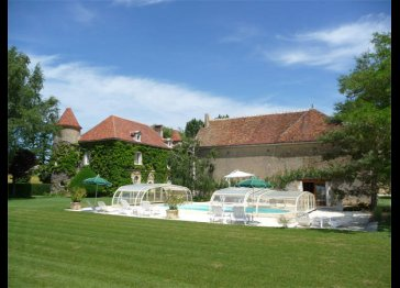 Ribourdin Castle : Charming Bed and Breakfast in Burgundy