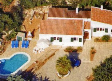 Menorca Holiday Villa with Private Pool.