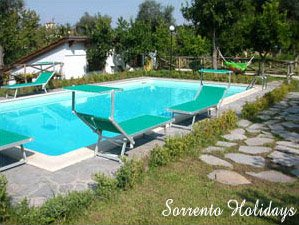 Apartment with pool Sorrento centre (T319)