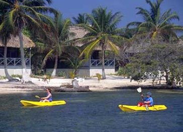 Blackbird Caye Resort