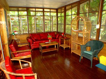 typical cottage interior
