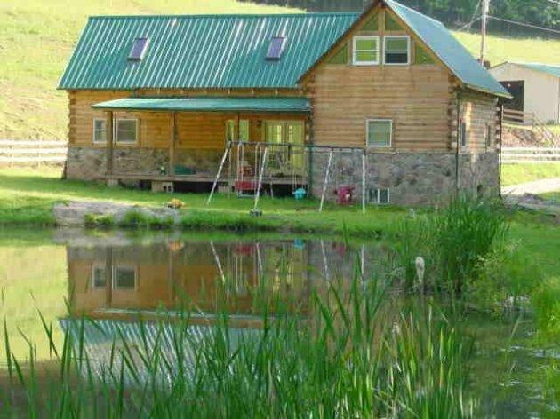 Hillbilly Haven Log Cabin Rentals Roanoke West Virginia