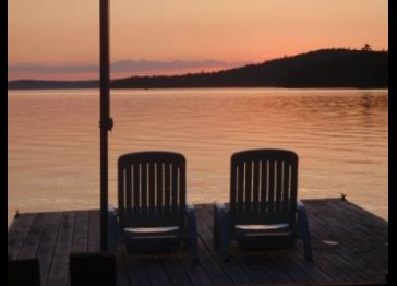 Greenville Maine, Lakefront Cabin on Moosehead Lake