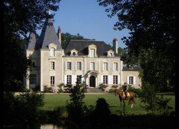 superb chateau near Saumur