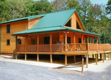 Log Cabin Vacation Home Rental Shenandoah Valley Luray