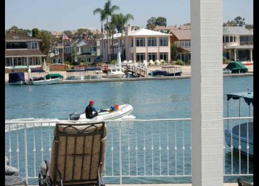 Collins Island Harborfront Home
