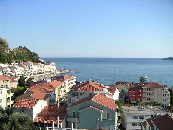 View of Rafailovici from balcony