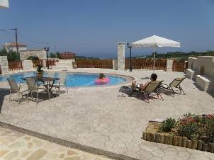 Villa Erofili near Rethymnon with 4 bedrooms