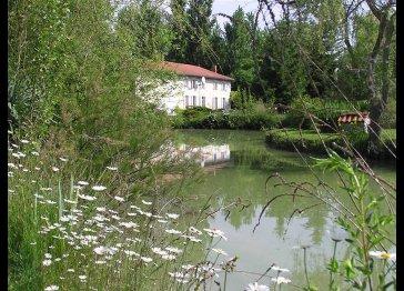 Monet and Matisse, Le Moulin de Malineau, near to Jonzac, SW