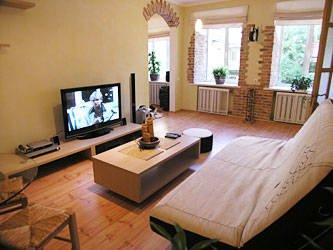 Bamboo apartment