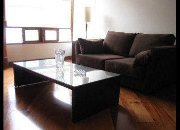 Spacious 1 bed furnished apartment