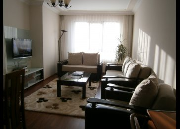 Furnished flat 3 bed apartment for rent in Ankara, Turkey