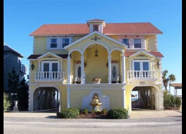 Periodic beachfront house