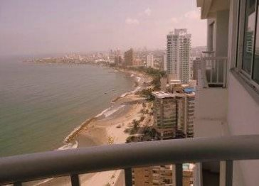 Beach Front 38th Floor Gem in the heart Of Bocagrande
