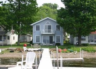 Modern lakefront home near Midway State Park!