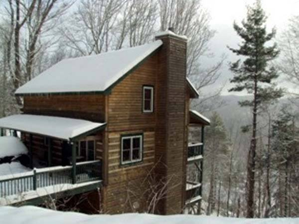 blue ridge mountains cabin rental boone north carolina usa