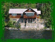 Awesome 3 waterfront homes on Paradox Lake
