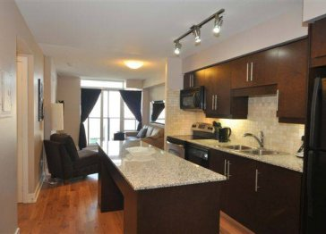 Toronto Furnished 1 Bedroom/Den