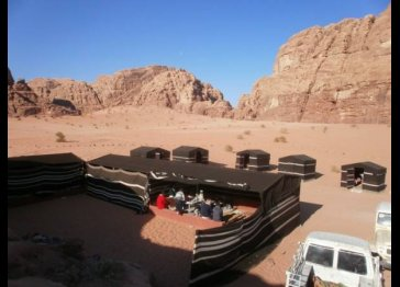 Wadi Rum seven pillars camp and tours