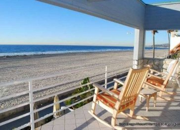 Oceanfront Home on the Mission Beach Boardwalk (SD62OFW)
