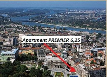 Apartment PREMIER 6,25 - 100sqm in the center of Belgrade